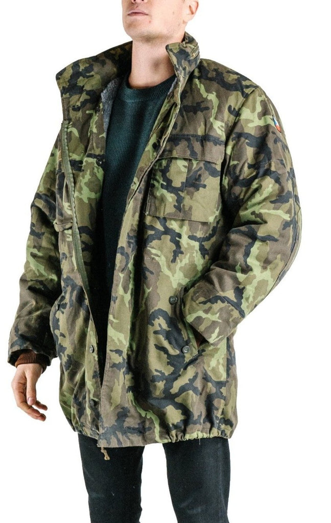 Czech Camo Parka with hood M65