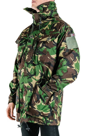 British Army Windproof Jacket - Smock - Parka - Woodland DPM Camo - Grade 1