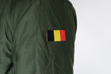 Belgian Army Parka M89 Olive Coat - MOD style coat - with fur hood