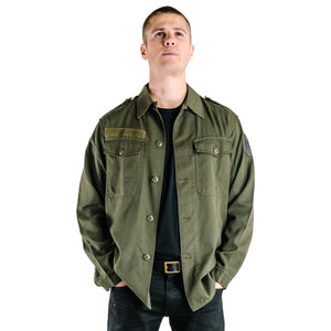 Austrian Heavyweight Army Shirt - Vintage