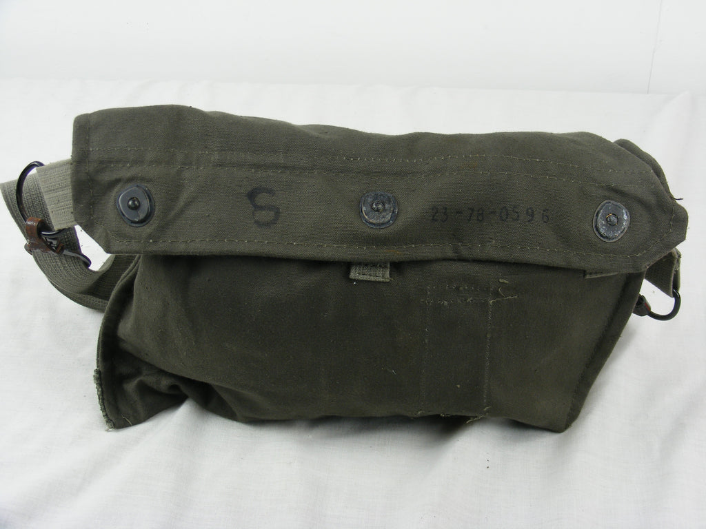 Yugoslavian Army Olive Green Canvas Shoulder Bag