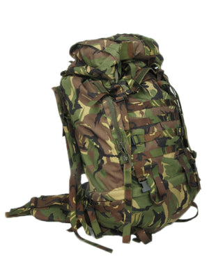 Woodland 60 litre DPM Camo Military Rucksack - Dutch Army Surplus
