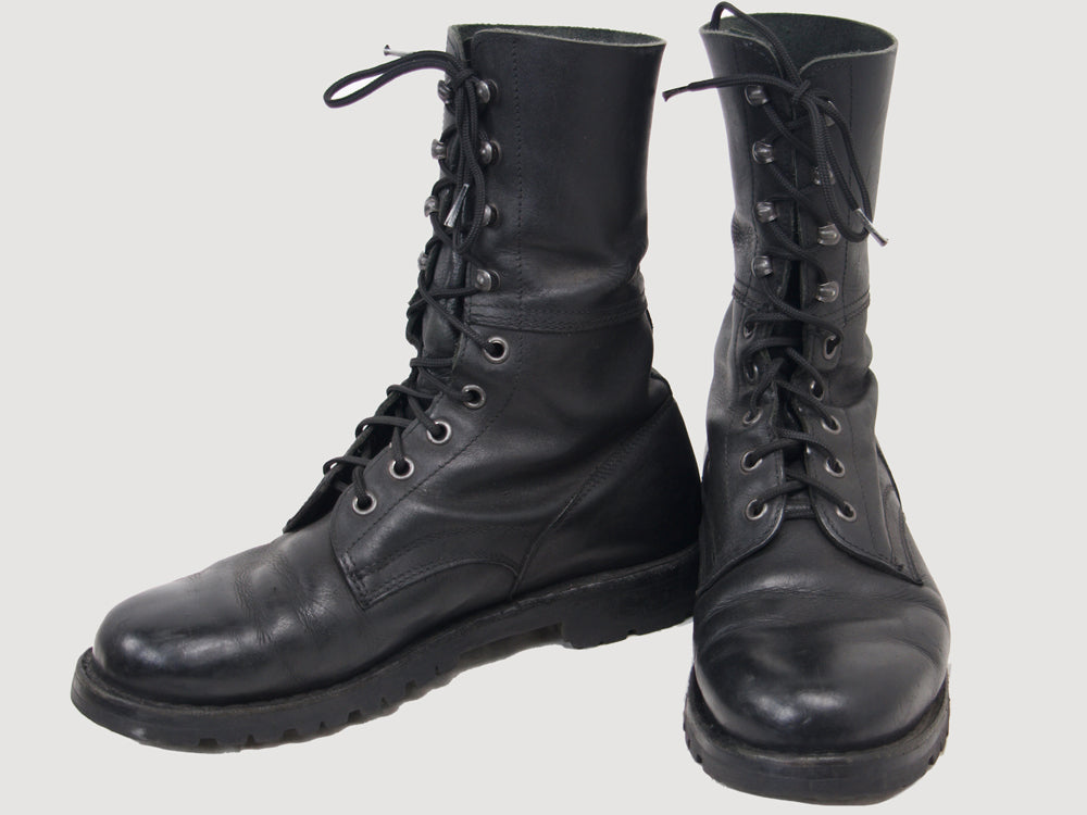 Austrian Army Lightweight Leather Combat Boots - DISTRESSED RANGE