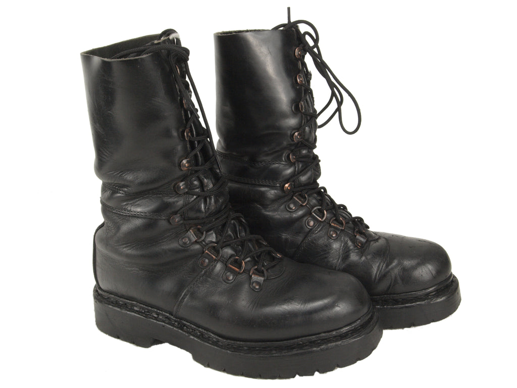 Austrian Heavyweight Leather Combat Boots