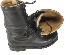 Austrian Army Leather Combat Para Boots