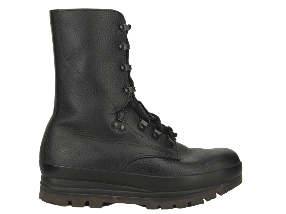 Swiss Leather Combat Boots - Super grade