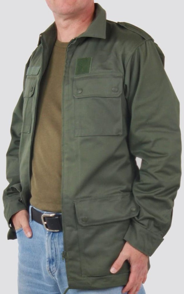 French Air Force Military Jacket - Green