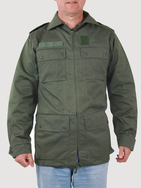 French Air Force Military Jacket Green New Forces