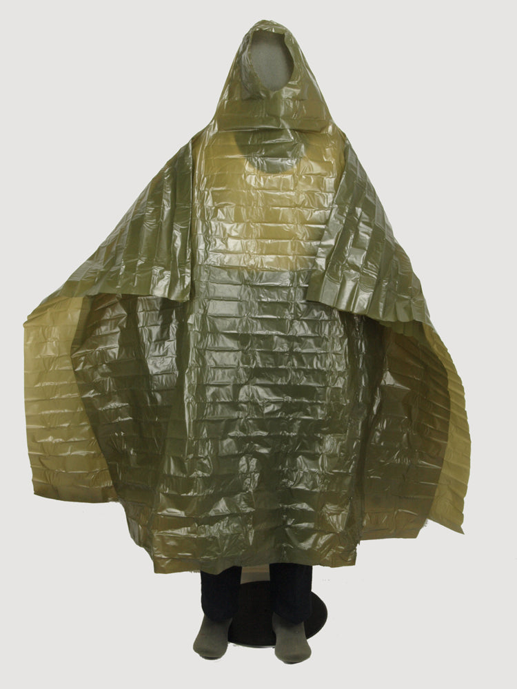 Norwegian Lightweight Emergency Poncho – unissued
