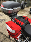Ex-Royal Mail bike pannier bag set