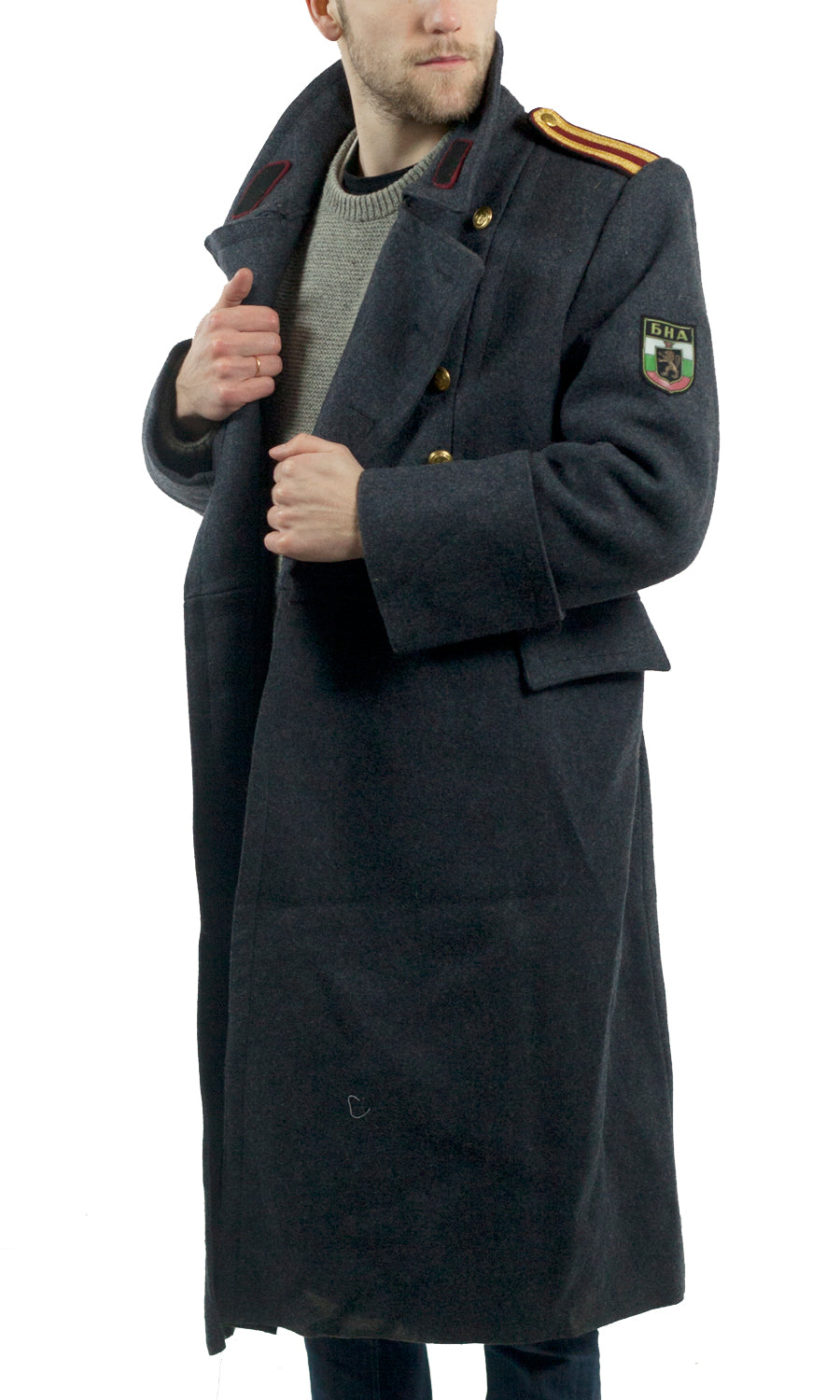 Soviet Army Senior Officers Grey Wool Greatcoat Forces
