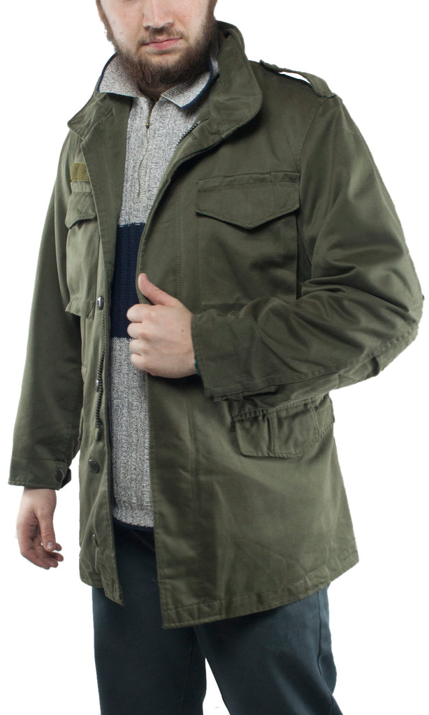 Austrian Army M65 Jacket (polycotton) – DISTRESSED RANGE