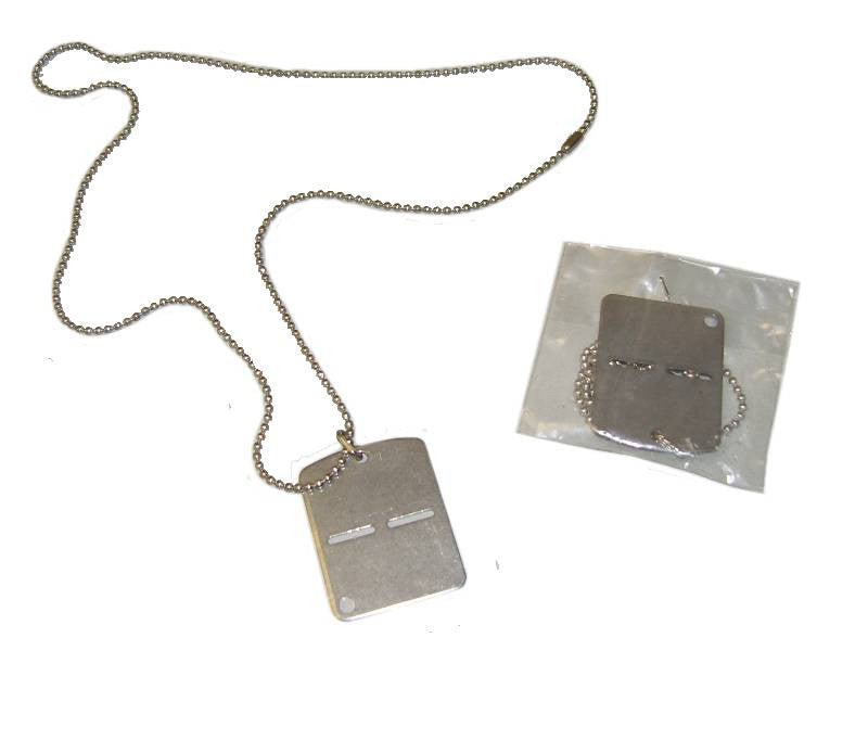 Military Dog Tags - Pack of 5