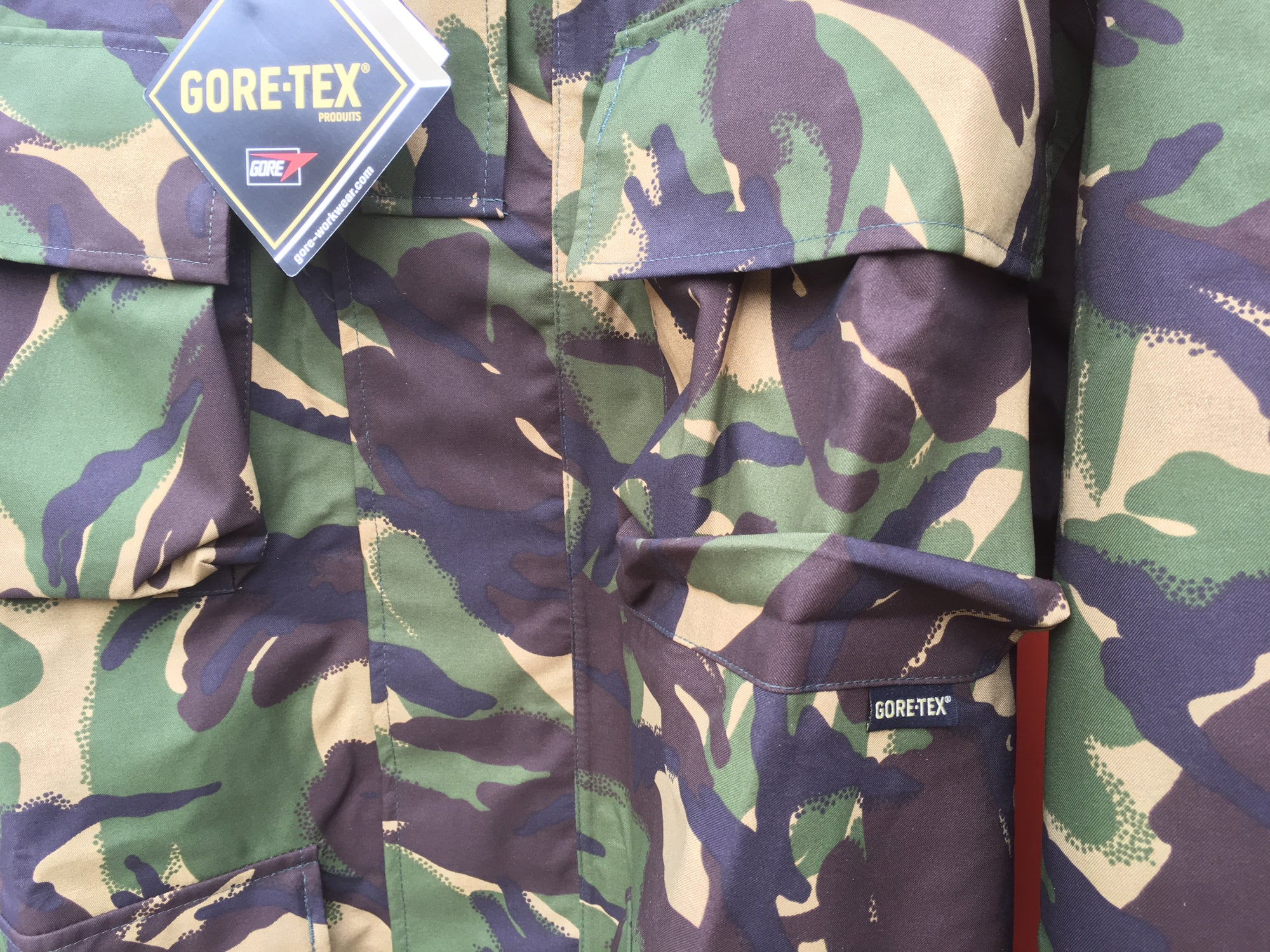 ae8d5584 XXXL+ British Army Surplus DPM Gore-Tex Jackets - New | Forces ...