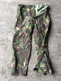 British Army Gore-Tex Trousers - Woodland DPM Camo - zipped dart ankle ankle