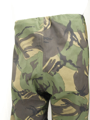 British Army Gore-Tex Trousers - Woodland DPM Camo - elasticated ankle - Grade 1