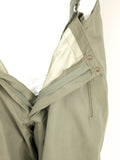 German Army Gore-Tex Trousers - unlined - Olive Green - DISTRESSED RANGE
