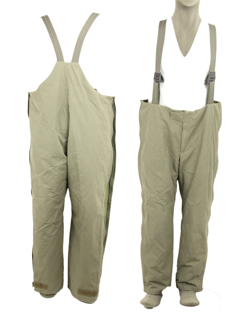 German Army Gore-Tex Trousers with lining - Olive Green - Grade 1