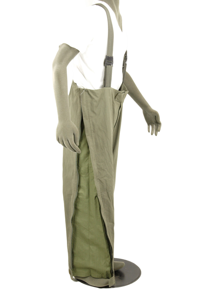 German Army Gore-Tex Trousers with lining - Olive Green - DISTRESSED RANGE