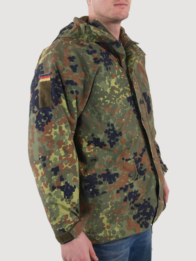 German Army Gore-Tex Jacket Parka - Flecktarn Camo