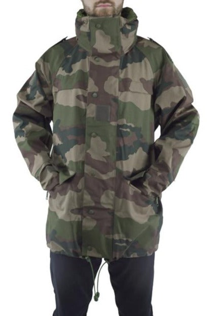 "French Woodland CCE Camo Army ""Gore-tex"" Jacket - DISTRESSED RANGE"