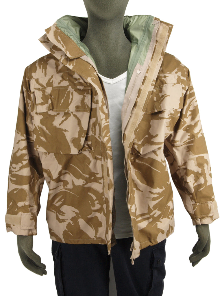 "British Desert Camo ""Gore-Tex"" Jacket"