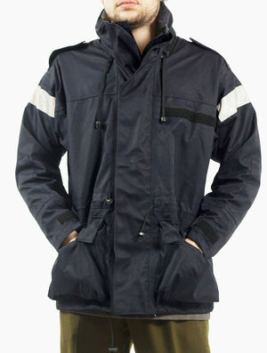 Royal Navy Gore-Tex Jacket with reflective stripes – DISTRESSED RANGE