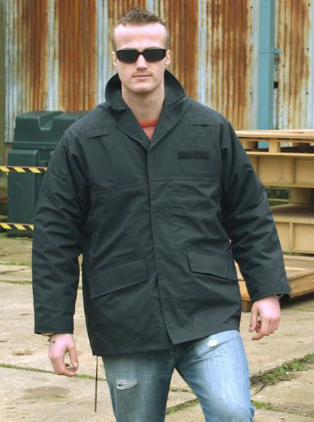 Black Gore-Tex (MVP) Waterproof Coat with liner - British Police Surplus