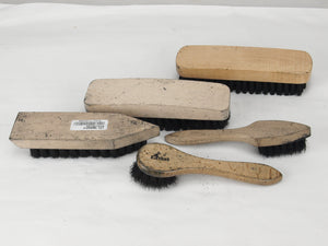 German boot cleaning brush kit - three brush set