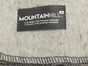 Light Grey Mountainhill - Wool-rich Military Blanket – Unissued
