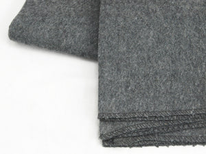 Dark Grey Wool-rich Military Blanket – Unissued