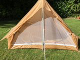 French desert colour nylon two-man tent - one piece – new