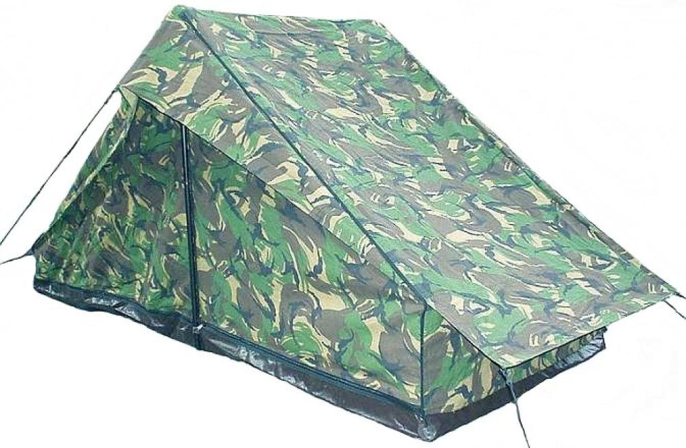 Dutch Two-man Woodland Camouflage Tent