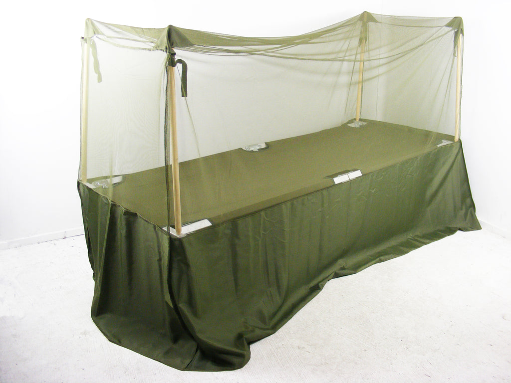 British Army Mosquito Net for British/US Cot Bed