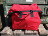 Small Red Waterproof Shoulder Bag - Ex Royal Mail