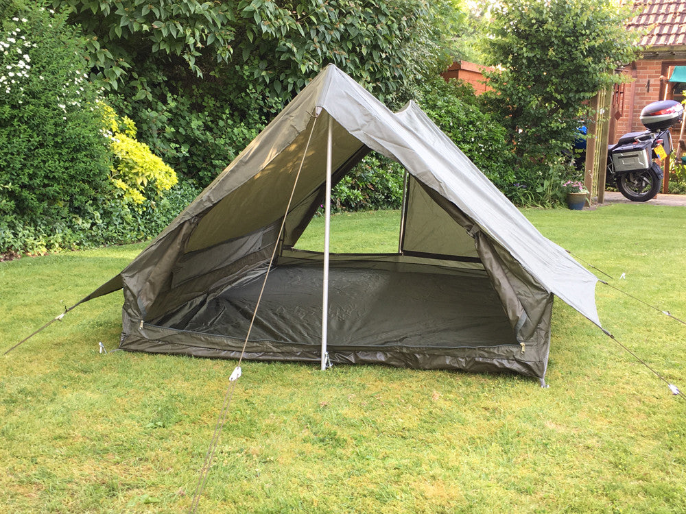 ... French nylon two-man tent - one piece u2013 new & Army Surplus Tents | Forces Uniform and Kit