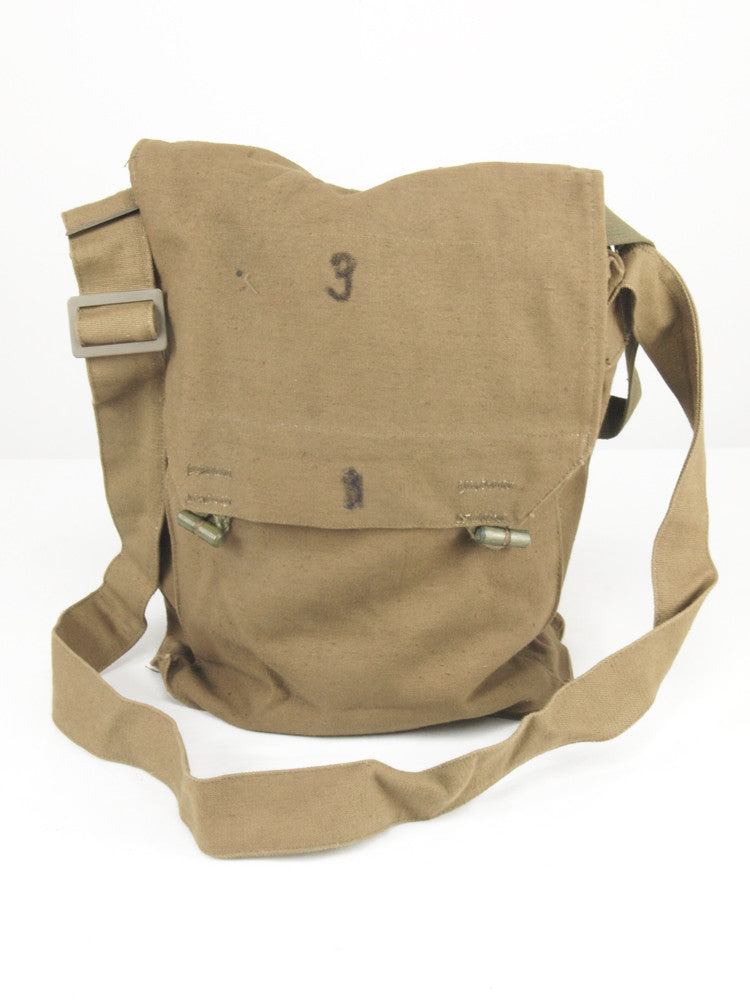 Yugoslavian Army Khaki Canvas Shoulder Bag