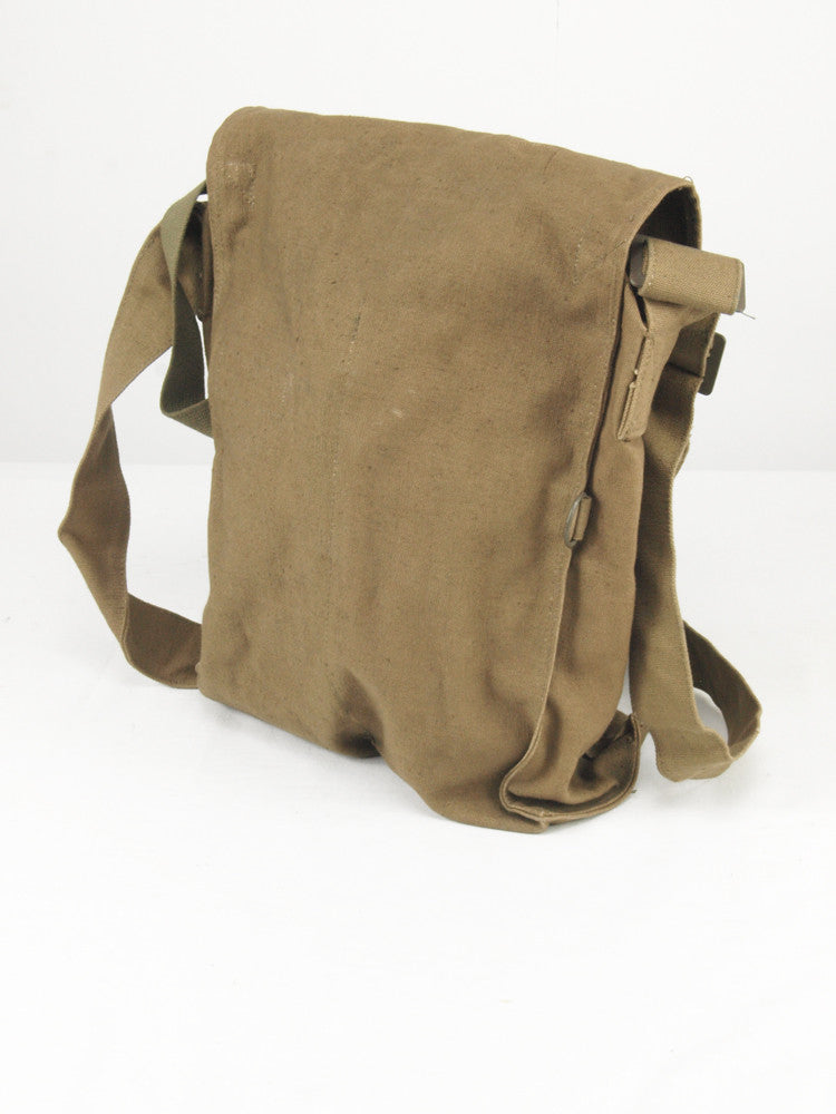 Czech Army Khaki Canvas Shoulder Bag - with toggles  9ce1dfdf7