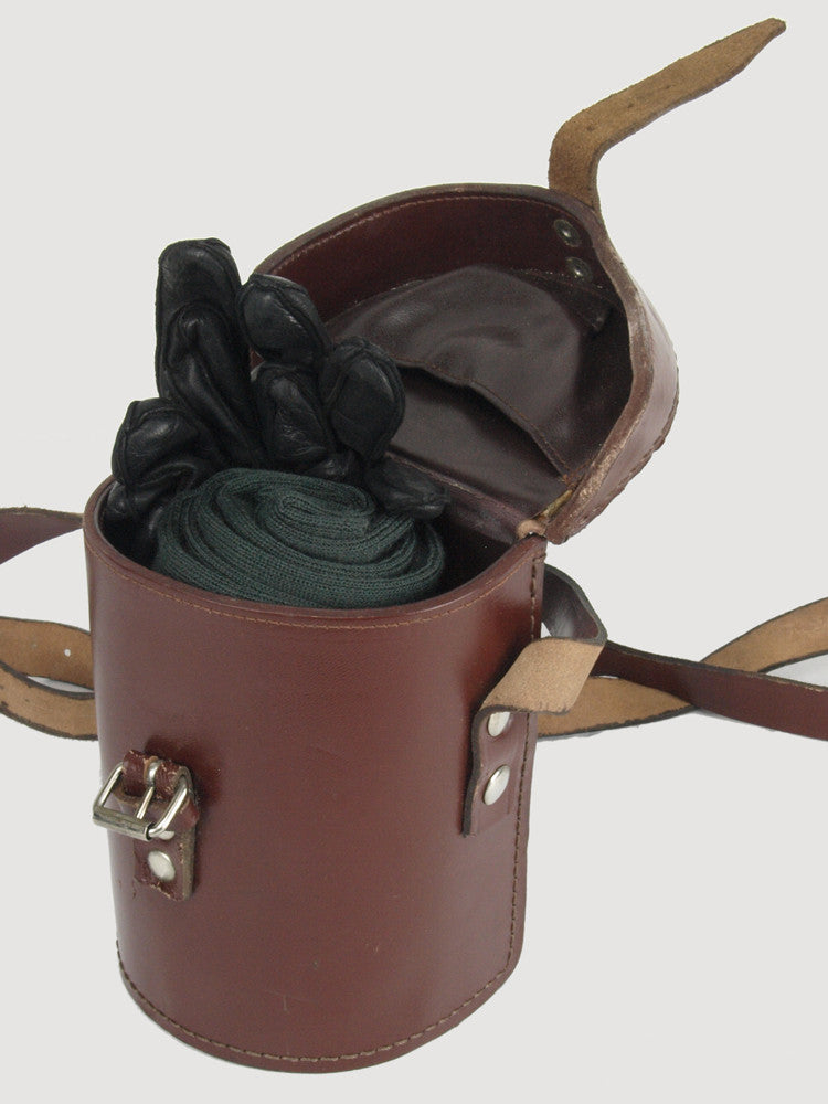Brown Leather Shoulder Case