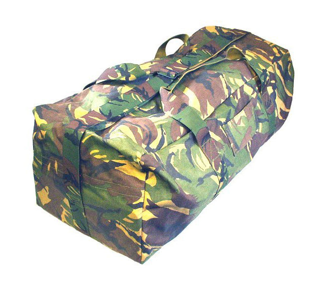 Camo Military Holdall - Dutch Army Surplus