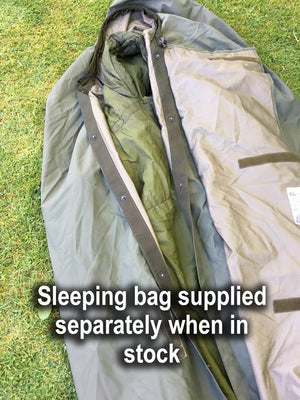 "Dutch M90 Olive Green ""Gore-tex"" Military Bivvy Bag - stud connecting version"