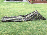 "Dutch Gore-Tex Camo Military ""Hooped"" Bivvy Bag -"