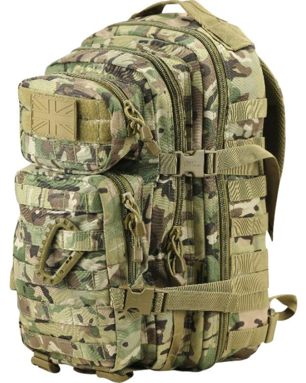 BTP - Small Molle Assault Pack 28 Litre - Camo Rucksack