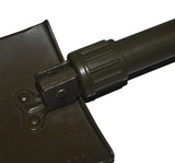 Military tri fold shovel - screw lock