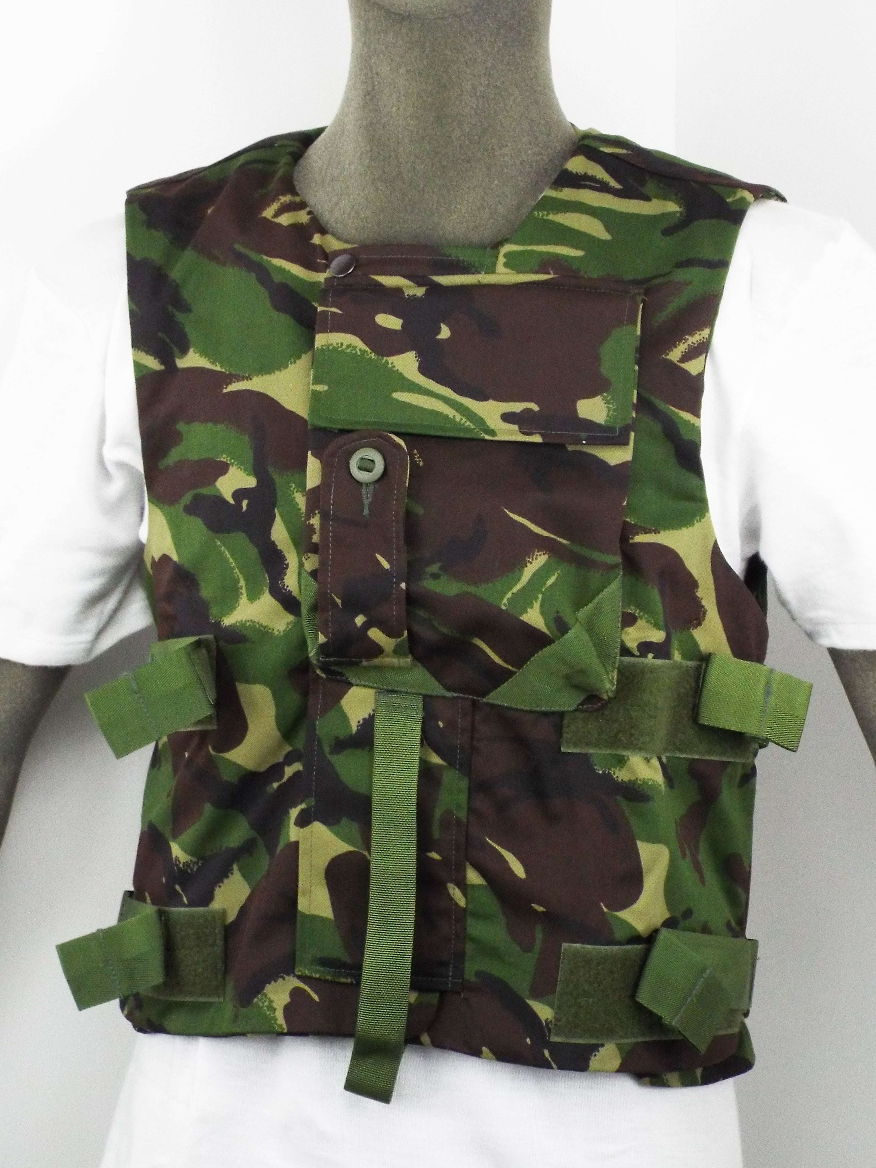British DPM Camo Flak Vest/Body Armour cover - Genuine British Army