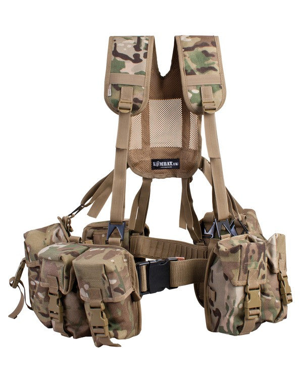 PLCE Webbing Set Multicam - 6 piece