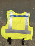 UK Police Stab/bullet proof security vest - body armour - HI VIS