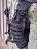 Dutch Army Utility Vest - Airsoft Molle Vest – Black