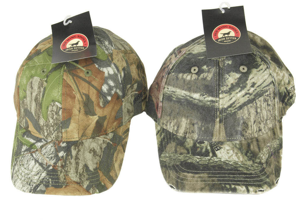 American Camouflaged Hats - by Irish Setter - brand new