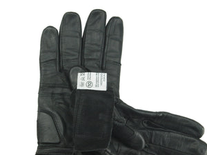 Austrian Army Lightweight Black Leather Cycling Gloves